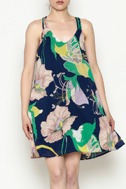Entro Strappy Detail Dress - Product Mini Image