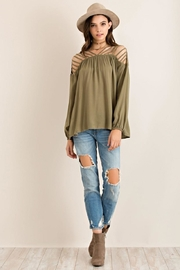 Entro Strappy Detail Top - Side cropped