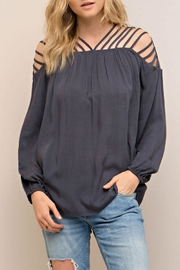 Entro Strappy Detail Top - Product Mini Image