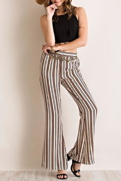 Shoptiques Product: Striped Bell Bottoms