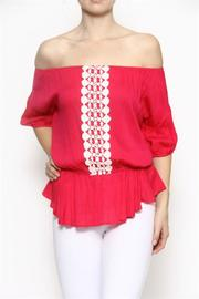 Entro Summer Crochet Top - Product Mini Image