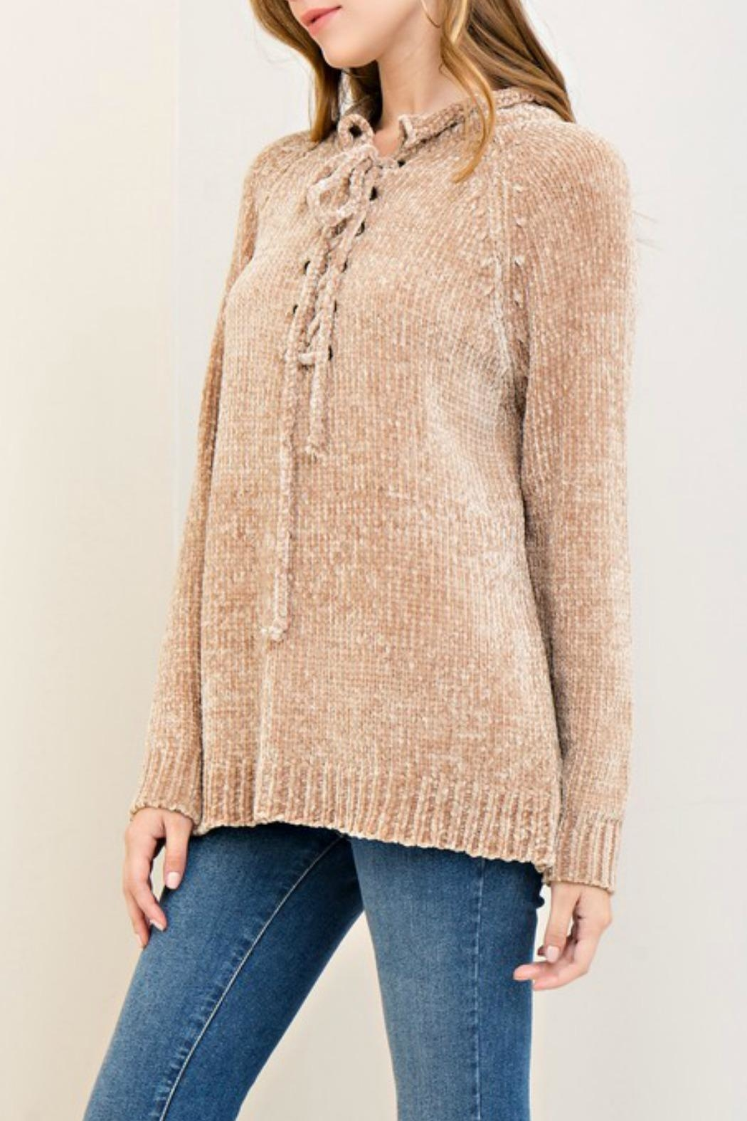Entro Super Soft Sweater - Front Full Image