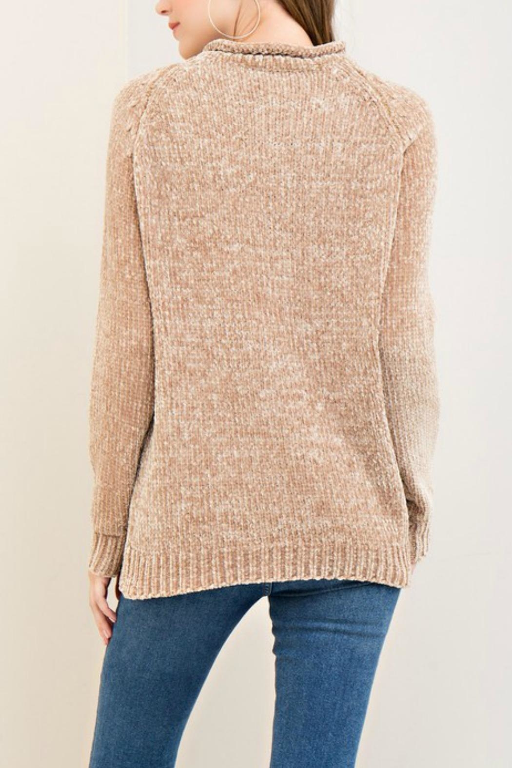Entro Super Soft Sweater - Side Cropped Image