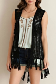 Entro Sweater Open Vest - Front cropped
