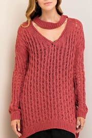 Entro Sweet & Slouchy Sweatshirt - Front cropped