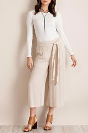 Entro Taupe Culotte Pants - Product Mini Image