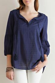 Entro Textured Blouse - Product Mini Image