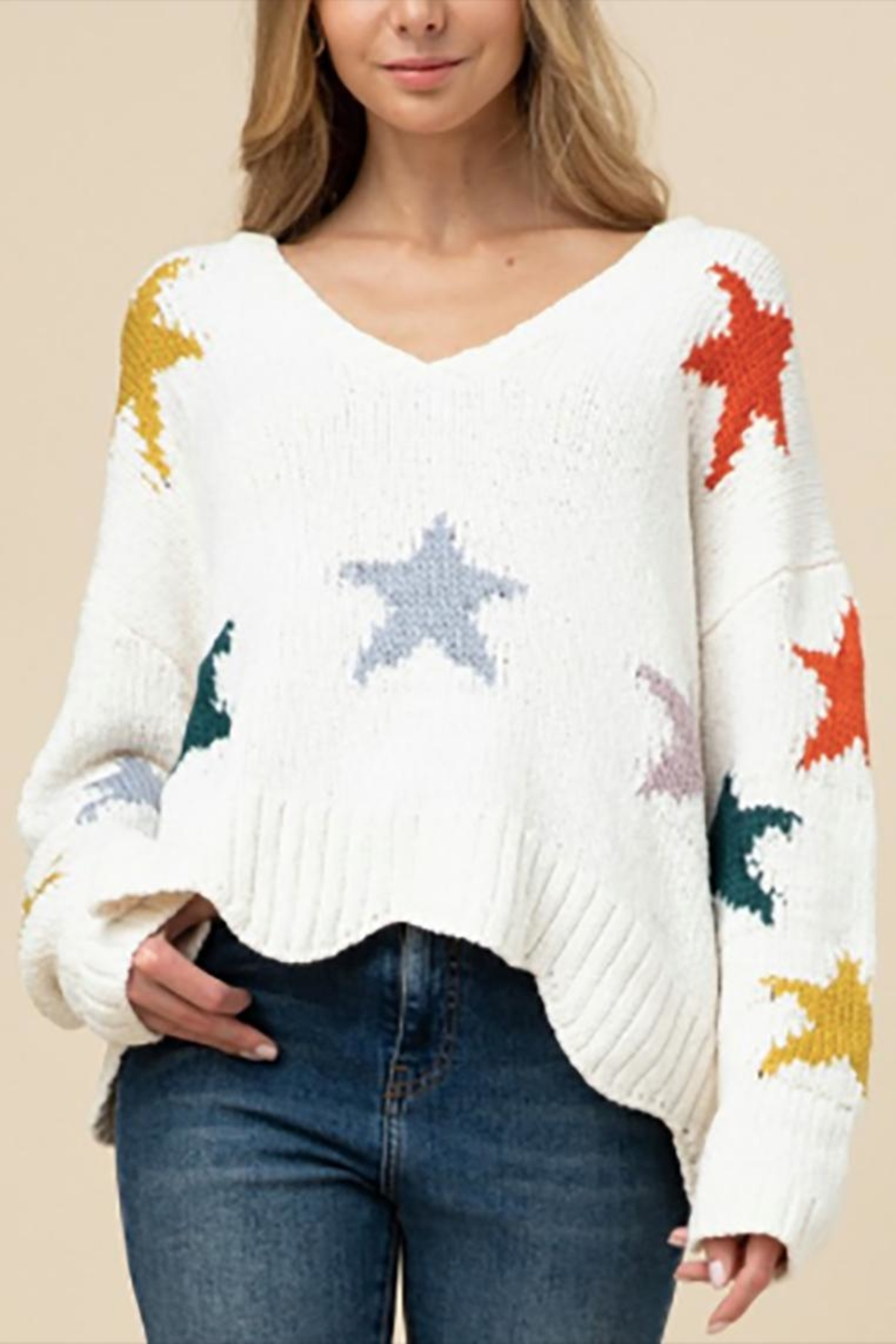 Entro The Astrid Sweater - Front Cropped Image