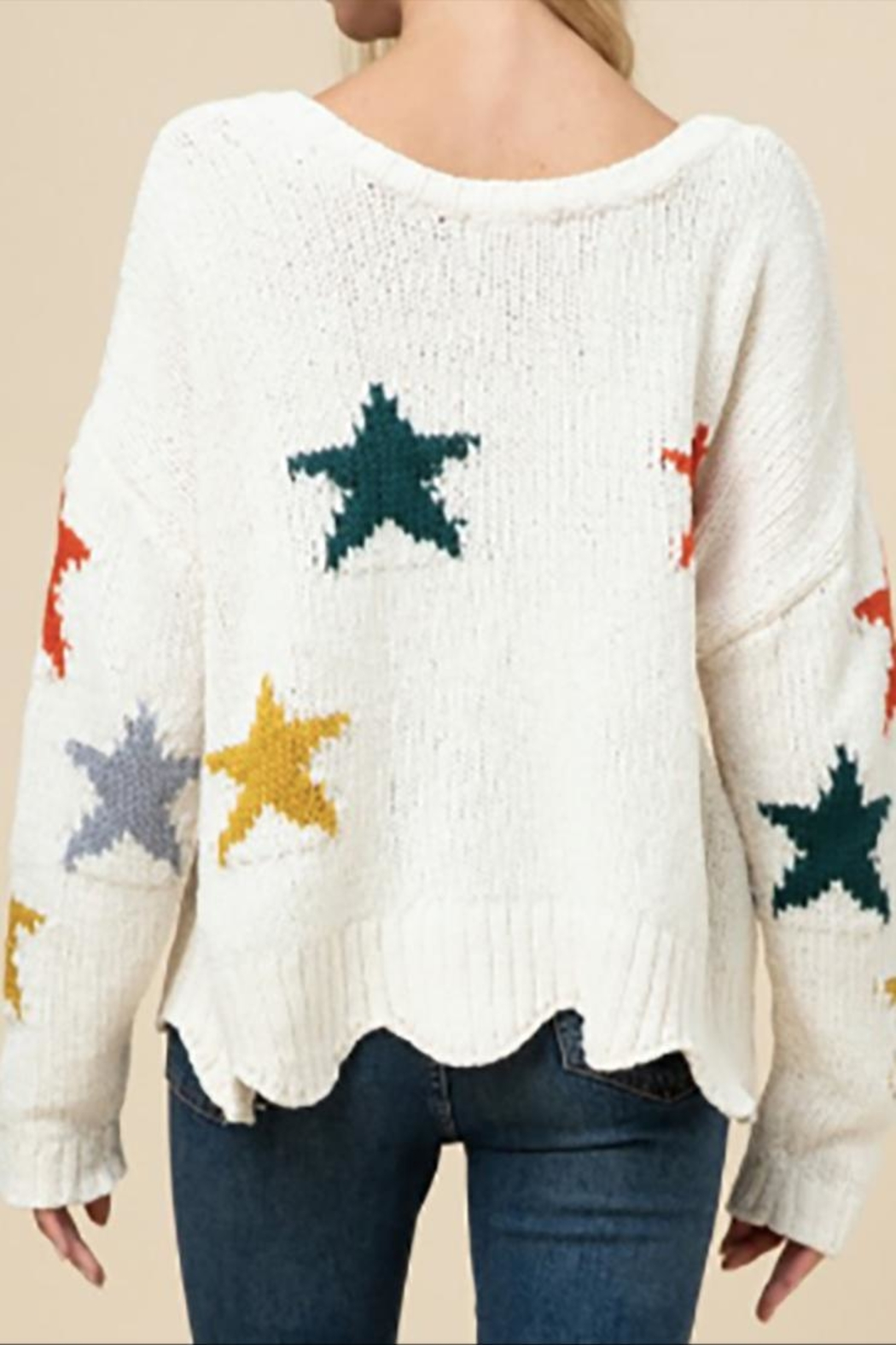 Entro The Astrid Sweater - Side Cropped Image