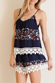 Entro The Beatrice Romper - Front cropped