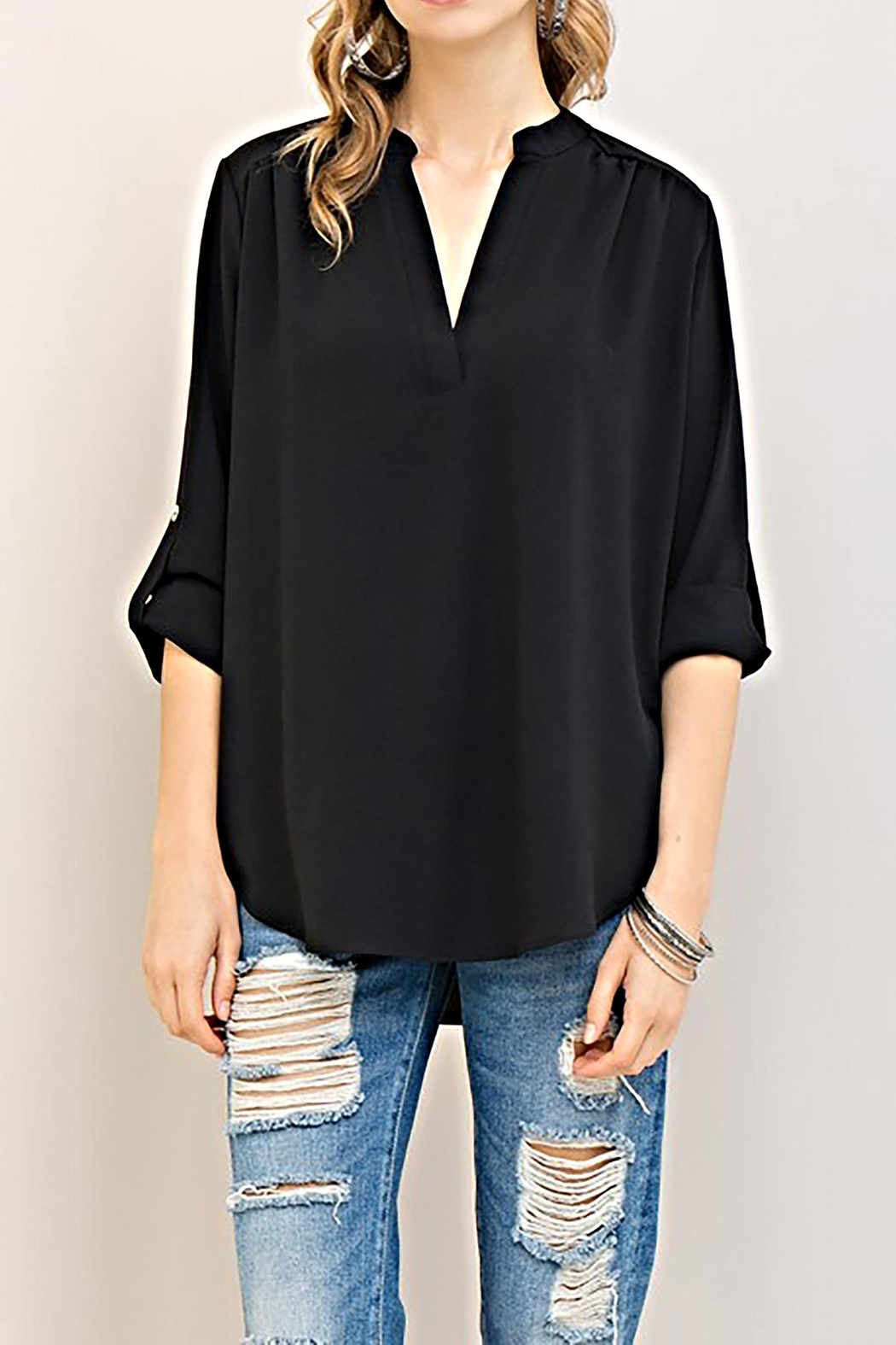 Entro The Claudia Blouse - Front Cropped Image