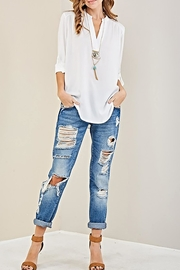 Entro The Claudia Blouse - Back cropped