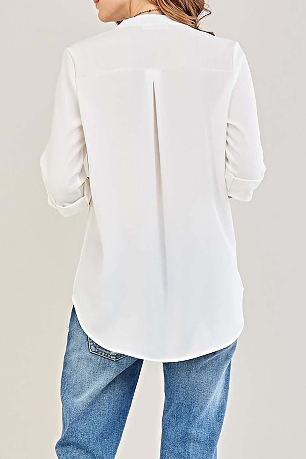 Entro The Claudia Blouse - Side Cropped Image
