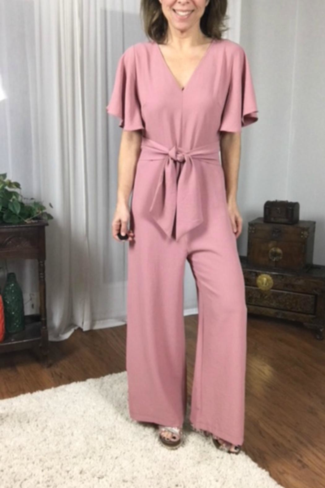 Entro The Karla Romper - Side Cropped Image
