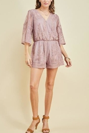 Entro The Latte Romper - Back cropped