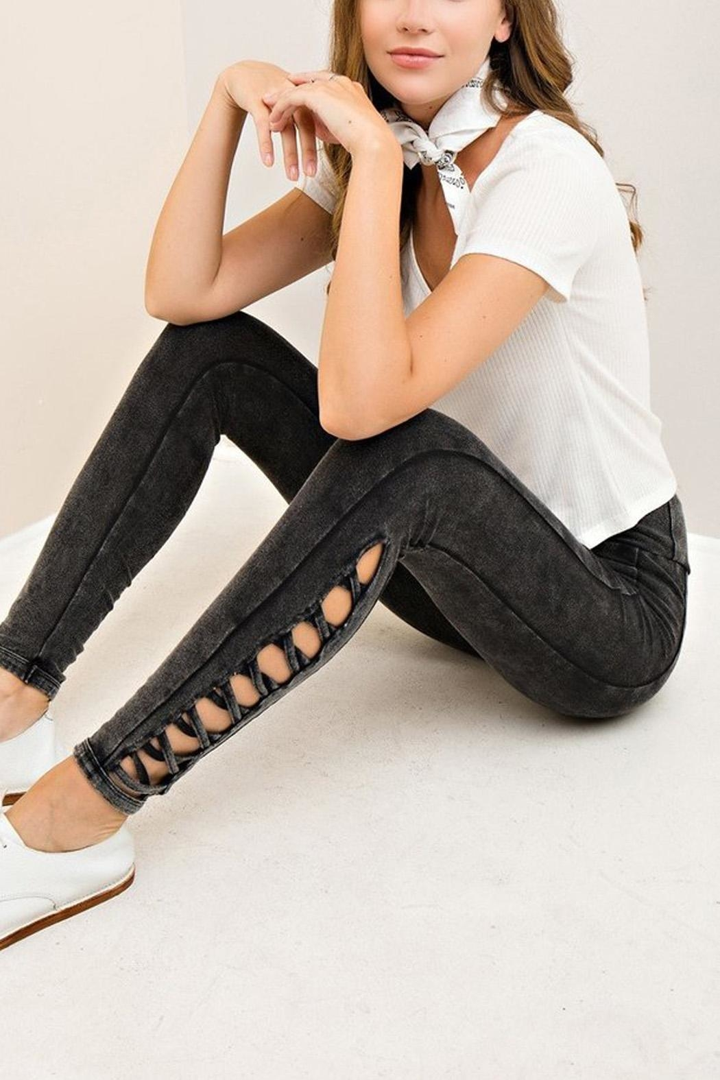 Entro The Payton Jeggings - Front Cropped Image