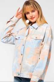 Entro Tie Dye Jacket - Product Mini Image
