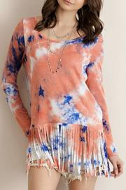 Entro Tie-Dye Jersey Tunic - Product Mini Image
