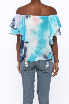 Entro Tie Dye Long Top - Alternate List Image