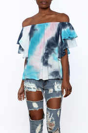 Entro Tie Dye Long Top - Product Mini Image