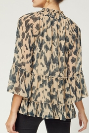 Entro Tiered 3/4 Sleeve - Back cropped