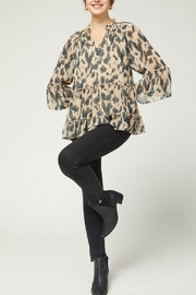 Entro Tiered 3/4 Sleeve - Front full body