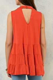 Entro Tiered Layers Top - Front full body