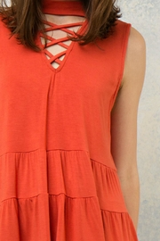 Entro Tiered Layers Top - Back cropped