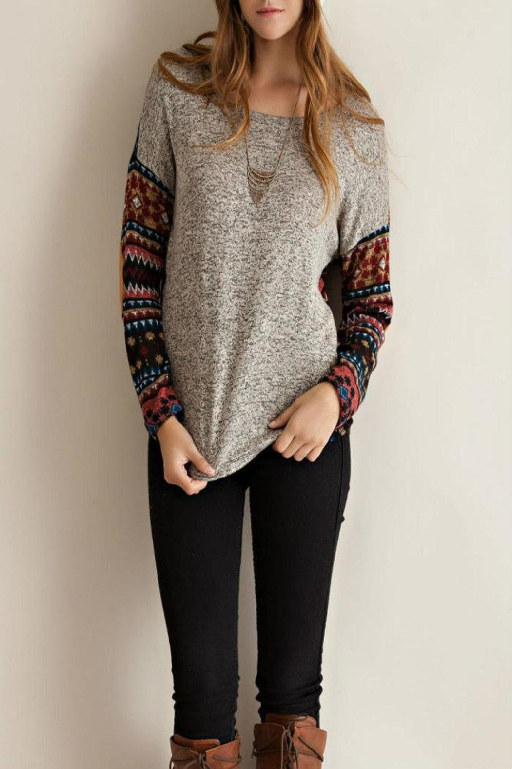 Entro Trendy Tribal Style Top From Mississippi By Exit 16