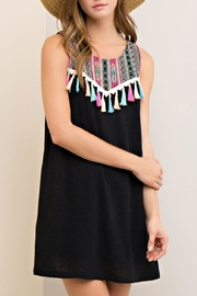 Entro Tribal Embroidery Dress - Product Mini Image
