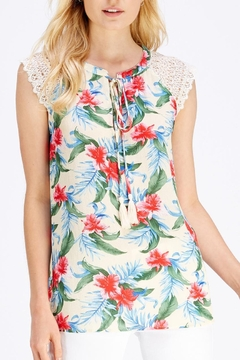 Entro Tropical Print Top - Product List Image