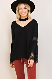 Entro V Neck Choker-Top - Front cropped