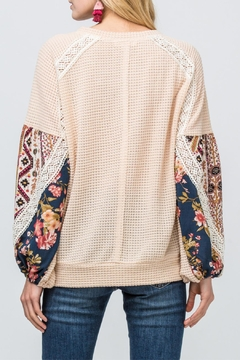 Entro Waffle Knit Top - Alternate List Image