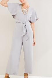 Entro Waist Tie Jumpsuit - Product Mini Image