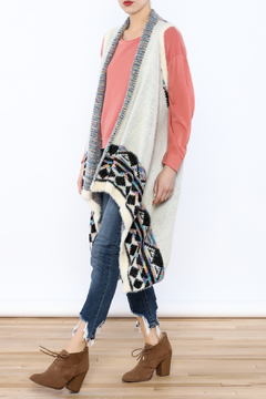 Shoptiques Product: Tribal Waterfall Vest