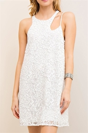 Entro White Shift Dress - Product Mini Image