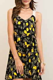 Entro Print V Neck Sundress - Product Mini Image