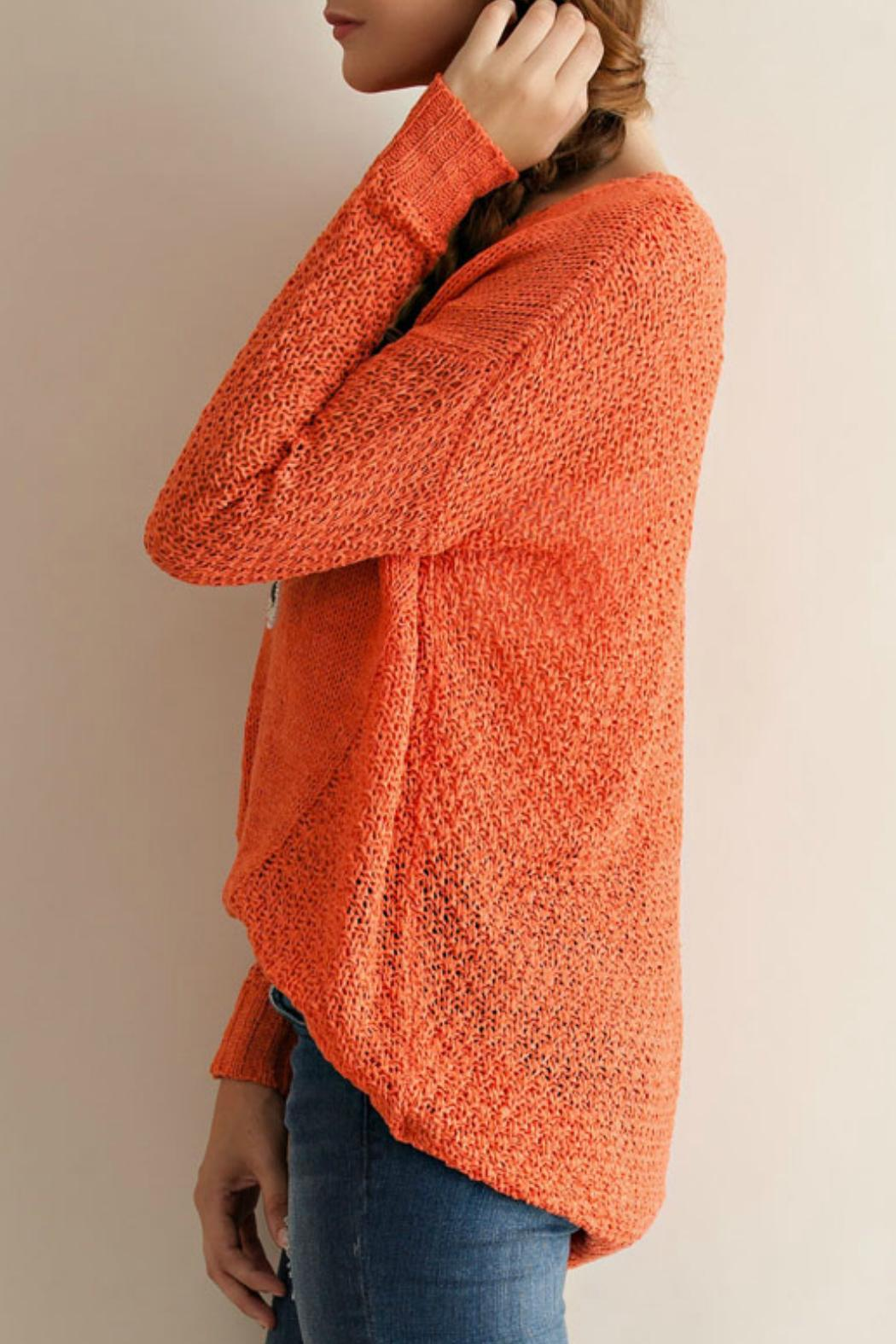 Open weave knitting patterns comsar for entro open weave knit sweater from montana by foxwood boutique shoptiques bankloansurffo Images
