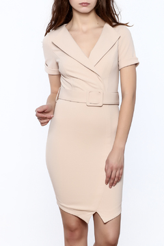 Shoptiques Product: Belted Wrap Dress