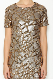 ENTRY Gold Sequin Dress - Other