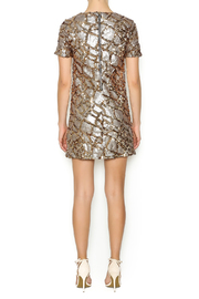 ENTRY Gold Sequin Dress - Side cropped