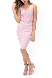 ENTRY Lace Bodycon Dress - Product Mini Image
