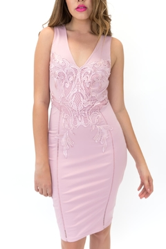 ENTRY Lace Bodycon Dress - Alternate List Image