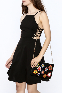 ENTRY Lace Up Dress - Product List Image