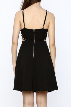 ENTRY Lace Up Dress - Alternate List Image