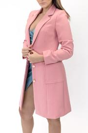 ENTRY Long Pink Coat - Product Mini Image
