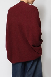 Alashan Cashmere  Envelope Cocoon Sweater - Back cropped