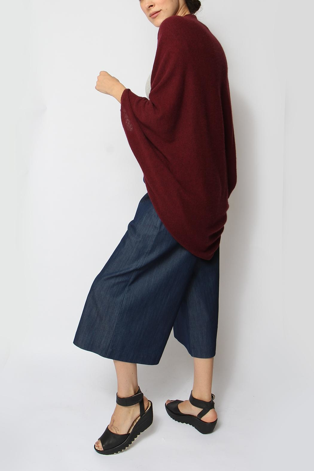 Alashan Cashmere  Envelope Cocoon Sweater - Side Cropped Image