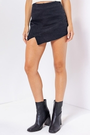 Le Lis Envelope Hem Skort - Product Mini Image