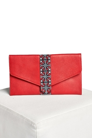 Two Neighbors Envelope Leather Clutch - Product Mini Image